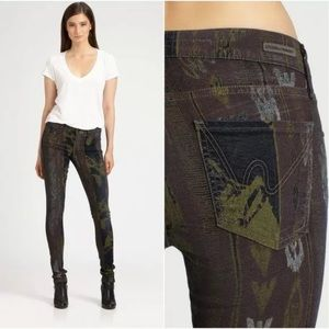 Citizens of Humanity Avedon tribal print jeans